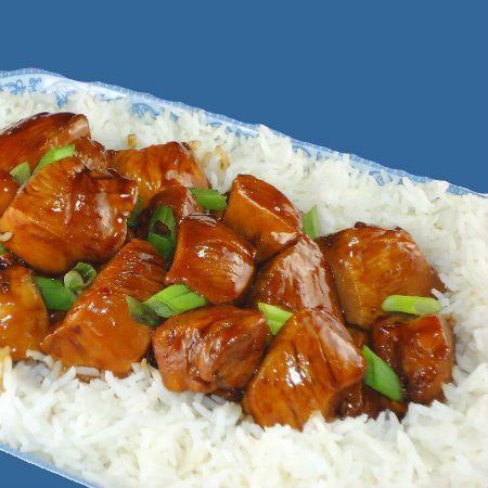 Uma mordida Perfeita: Chinês-Estilo Bourbon frango