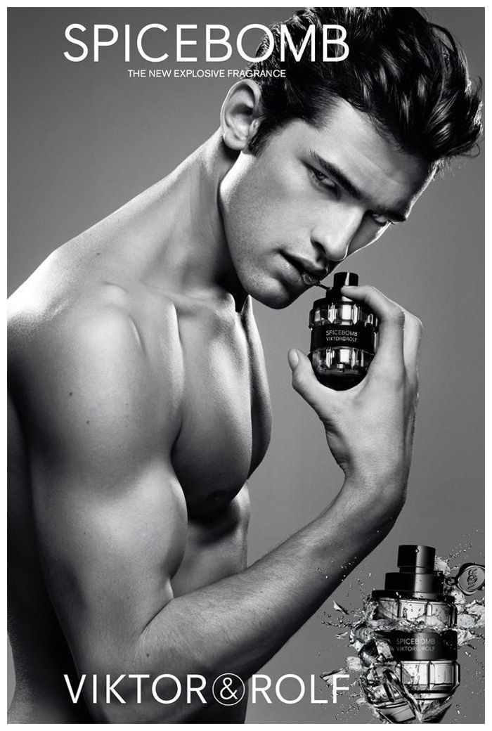 Sean O'Pry for Viktor & Rolf Spicebomb