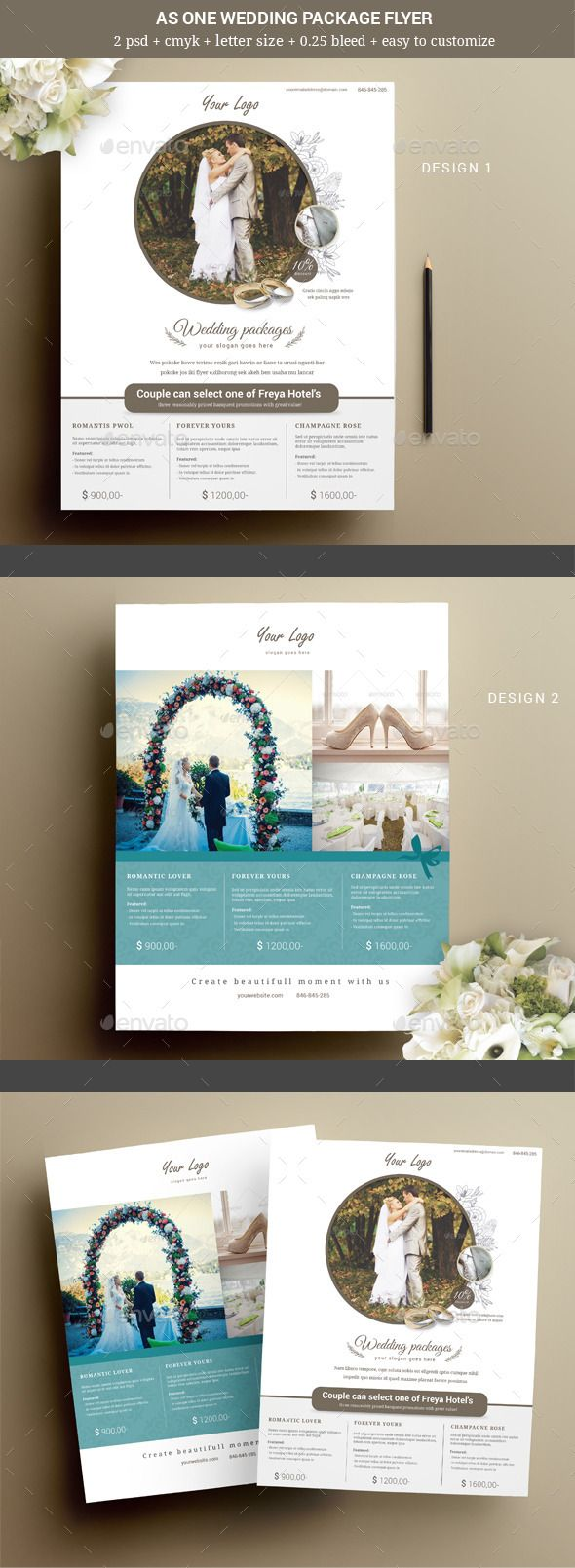 wedding card design software for android%0A As One Wedding Event Flyer