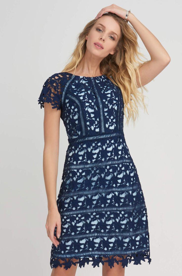 Krátké šaty s výraznou krajkou