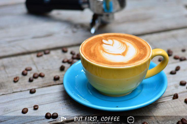 Latte. Professional photograhy service for Warung Rumah Seni Kopi Medan.