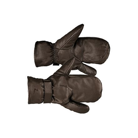 Horze Leather 3-Finger Mittens | Horze Winter Gloves