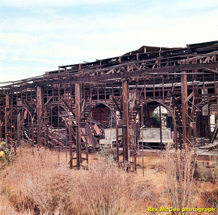"""Unfinished West Side Of """"40 Acres"""" Atlanta Train Shed Set"""