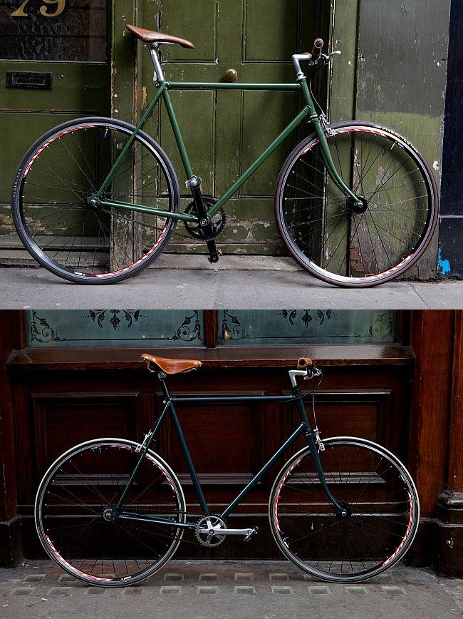 SohoFixed bikes.  Custom handmade and painted bikes.  Made from salvaged and new parts.