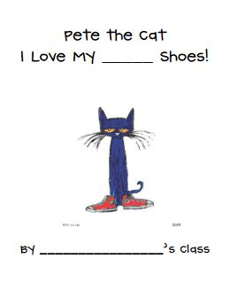 Pete the Cat class book.pdf  I'm in LUV with Pete the Cat and want to have many resources to use to complement the books that will use many learning activities as possible that are hands on and musically fun!