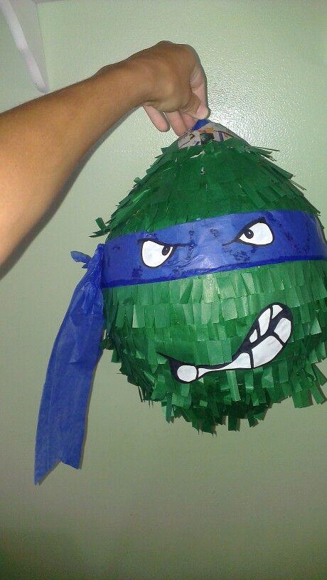 Homemade Ninja turtle pinata :)