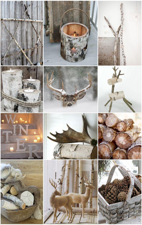 Moodboard - Les tendances déco pour Noël : l'esprit « nature »  :hearts: #epinglercpartager
