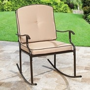 Rocking Chairs Cushions And Metals On Pinterest