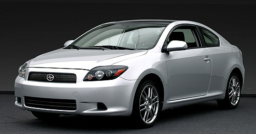 Scion tc. One of the best cars around!