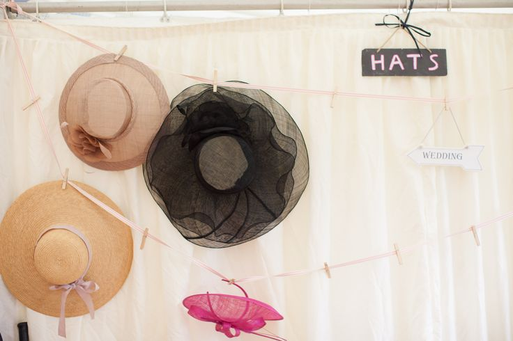 Hat line wedding marquee