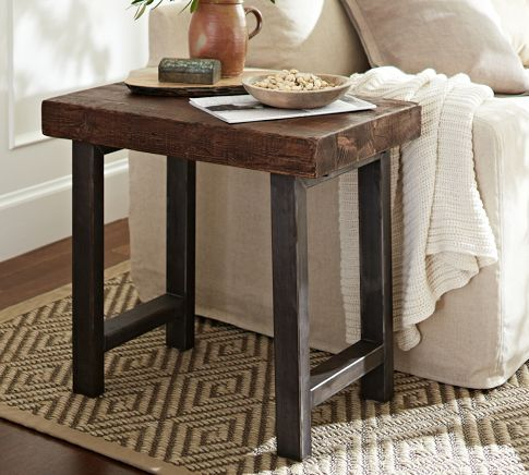 This Would Look Great In My Living Room. Griffin Side Table | Pottery Barn.