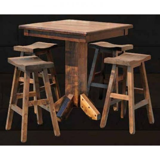 Rustic Pub Table Furniture Made In USA Builder43 | Pub Tables And Stools