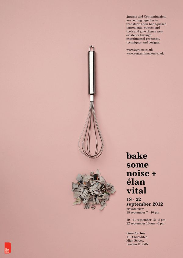 Design & Food: Bake Some Noise | Keepsake Magazine