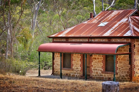 Morialta House adjoining the Conservation Park. Originally built by first land owner.