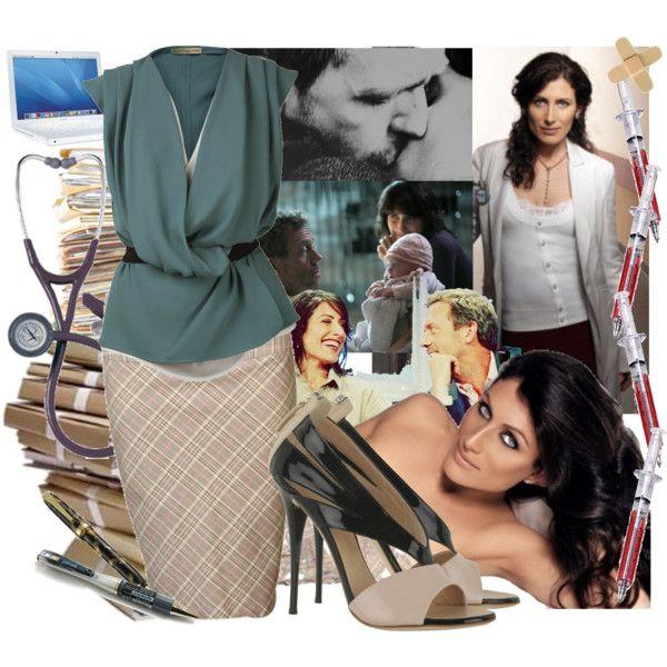 """Dr. Lisa Cuddy"" by radarlove on Polyvore"