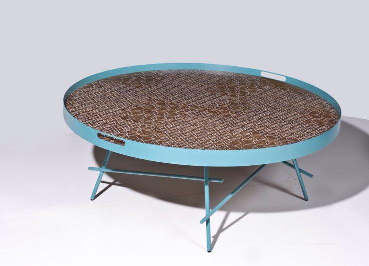 Coffee Table ANELO Φ100 design by Manolis Giannouladis for #furnitureunico