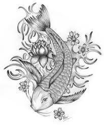 Tatuajes koi for Pez koi pequeno