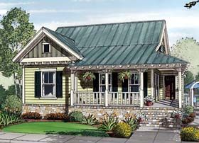 Bungalow Cottage Country House Plan 30502 Elevation Tin Roof HouseFamily Home PlansFamily