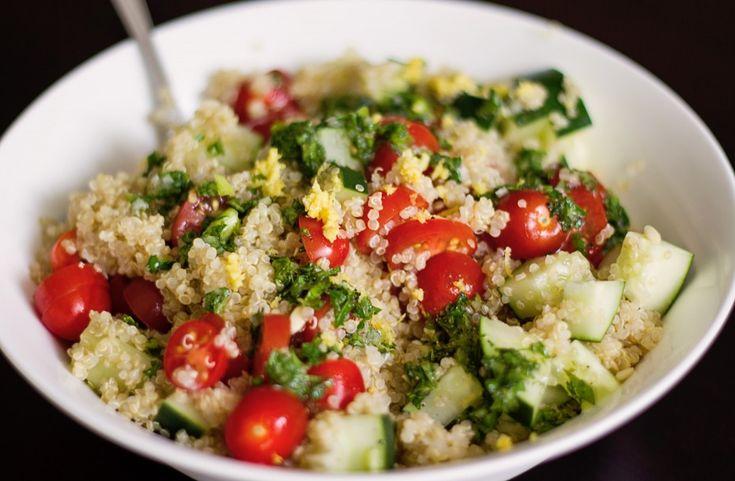 Recipe: Quinoa Salad with Mediterranean Dressing | Top Mom Bloggers On ...