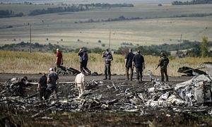 """The BBC's Australia correspondent, Jon Donnison, is disputing claims by Rupert Murdoch's newspapers in Australia that they have discovered """"disturbing new footage"""" of the aftermath of the shooting down of Malaysian Airlines flight MH17 in Ukraine last year."""
