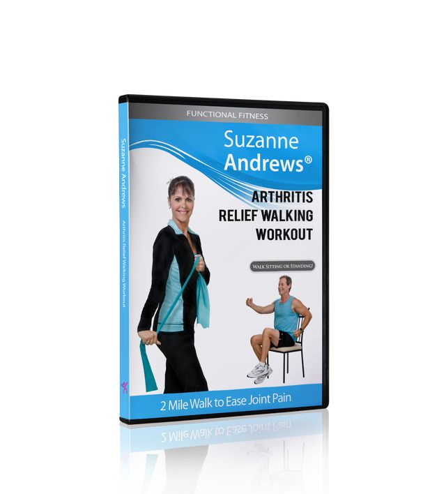 The Arthritis Relief Walking Workout With Suzanne Andrews (Video) can get you started with a regular exercise routine.