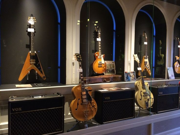 Guitars The Museum in Umeå, Västerbottens län