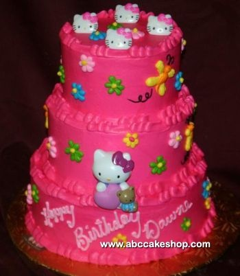 The 22 best images about gabriella hello kitty cakes on Pinterest