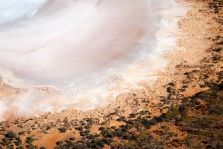 Salt flats near Kalgoorlie in Western Australia