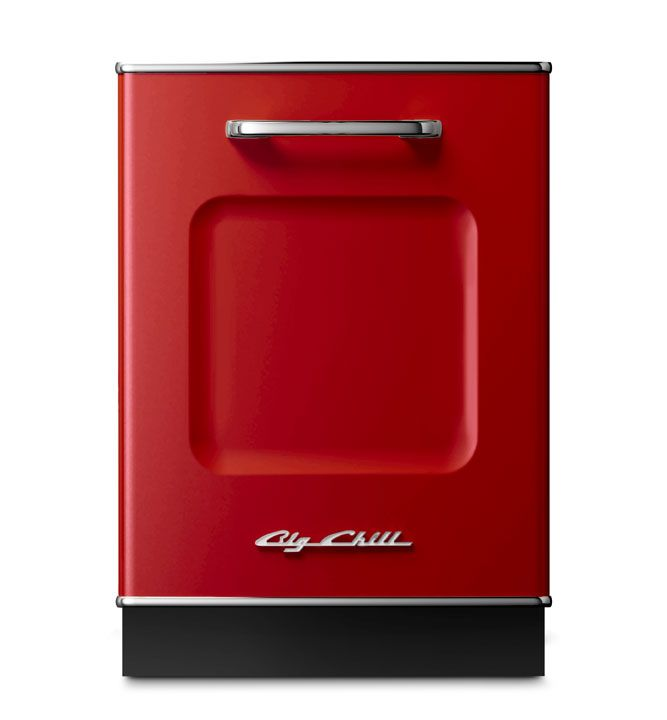 17 best images about big chill dishwasher on pinterest - Red kitchen appliances ...