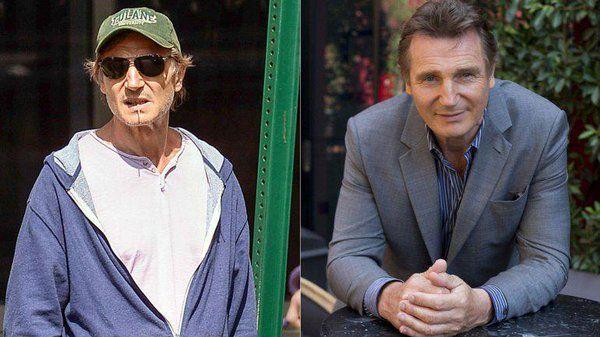 La razón de la extrema delgadez del actor Liam Neeson