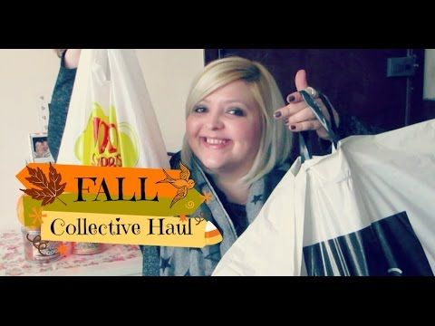 Fall Collective Haul   Gap, New Look, NYX, Candy Corn and more !