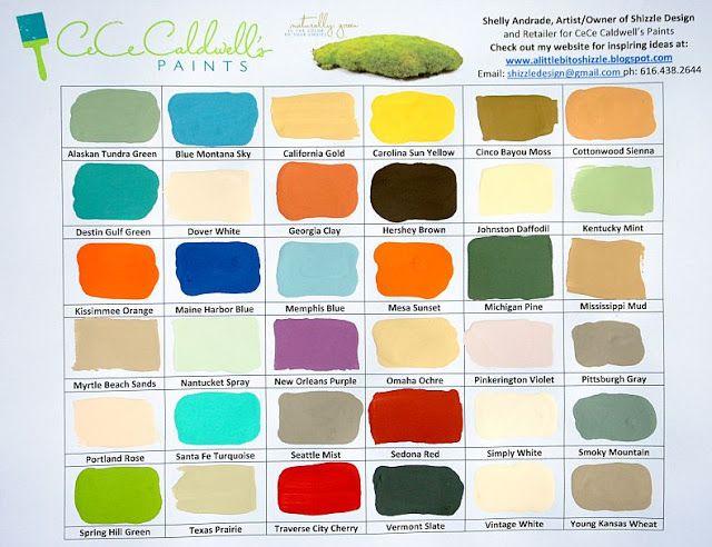 CeCe Caldwell paint colors.