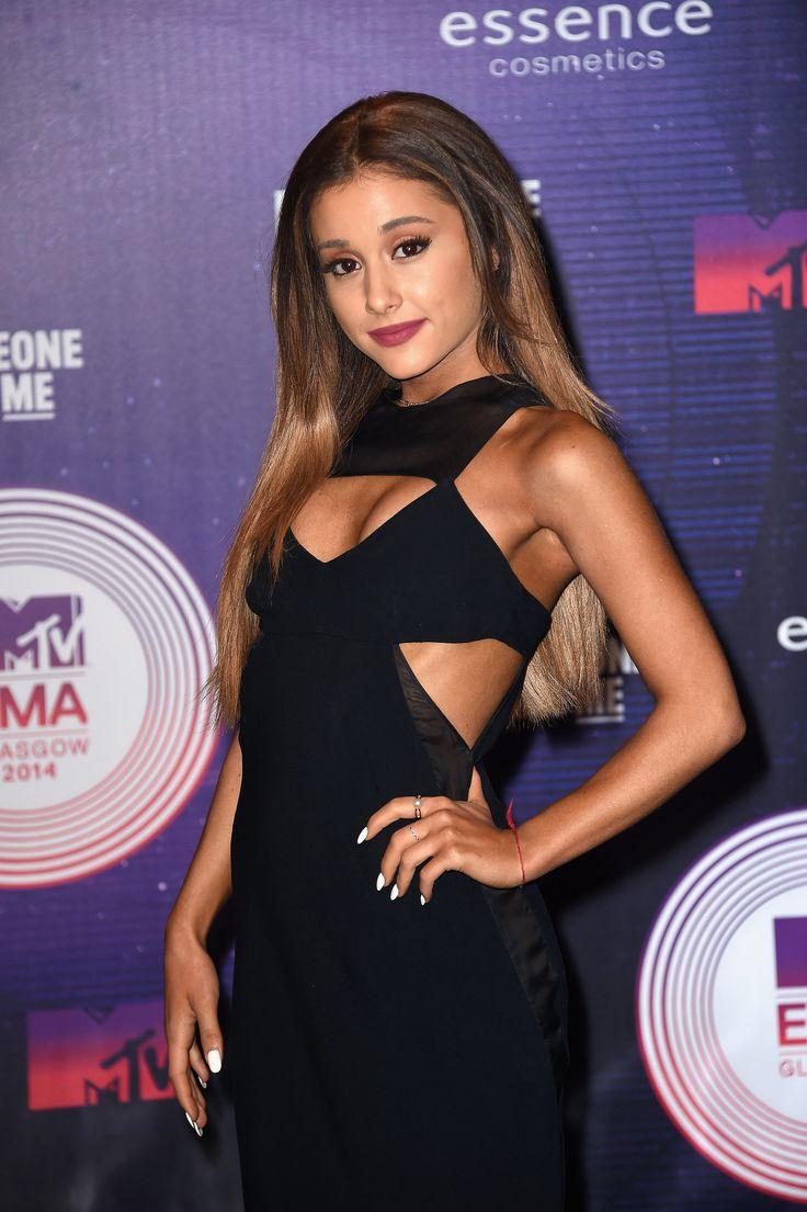 Ariana Grande on the MTV EMAs Red Carptet