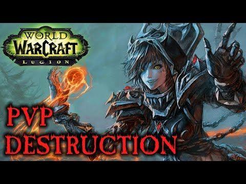 Destruction Warlock PvP Guide/Talents/Rotation - Legion (Patch 7.0) - http://freetoplaymmorpgs.com/world-of-warcraft-online/destruction-warlock-pvp-guidetalentsrotation-legion-patch-7-0