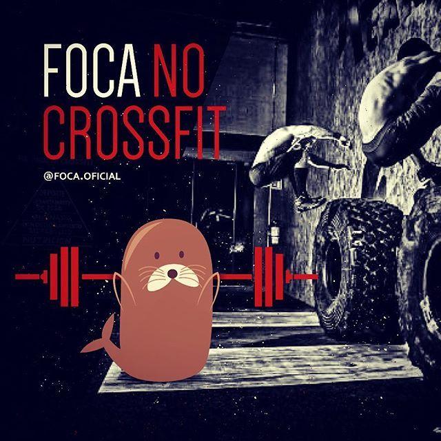 #focanocrossfit #foca #foco #crossfit #crossfitgirls #focanacorrida #focanadieta…