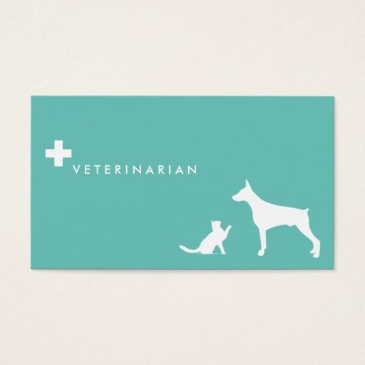 193 best veterinarian business cards images on pinterest for Veterinarian business cards