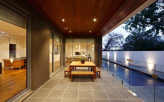 Outdoor design by Wolf Architects, Melbourne Australia