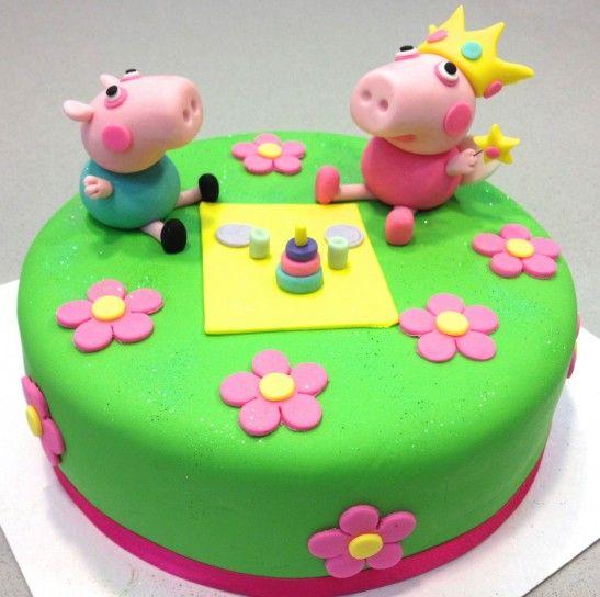 Decorazioni Torte Peppa Pig