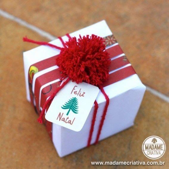 Já comprou o presente de natal e só falta embrulhar? Quer ser criativo (a) e não quer usar aqueles sacos prontos pra presentes? Selecionei a...