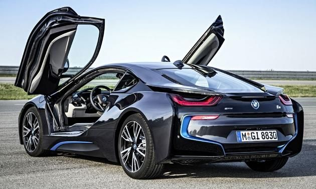 BMW i8 coupe, Electric... Due out April 2015. Tesla-competitor?! Sweet!