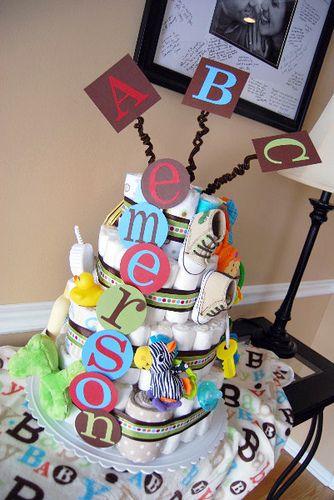 #diaper cake