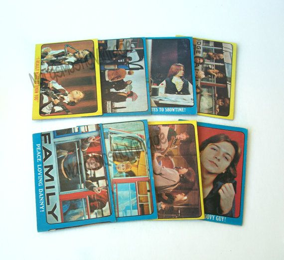 Lot of 8 Partridge Family Trade Cards by MargsMostlyVintage