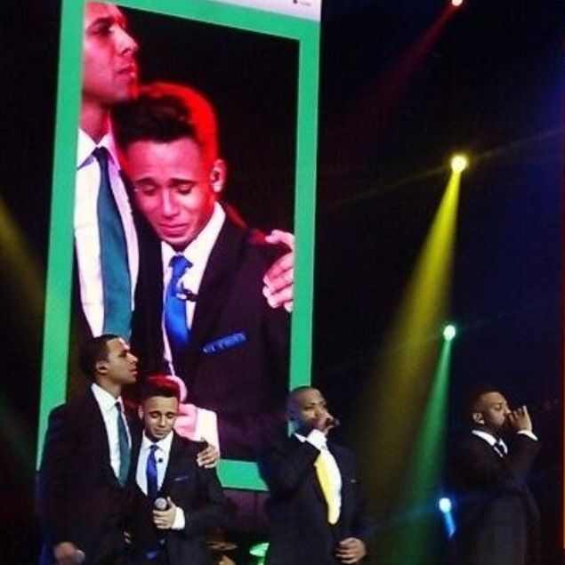 JLS goodbye tour last gig yesterday (22nd December)