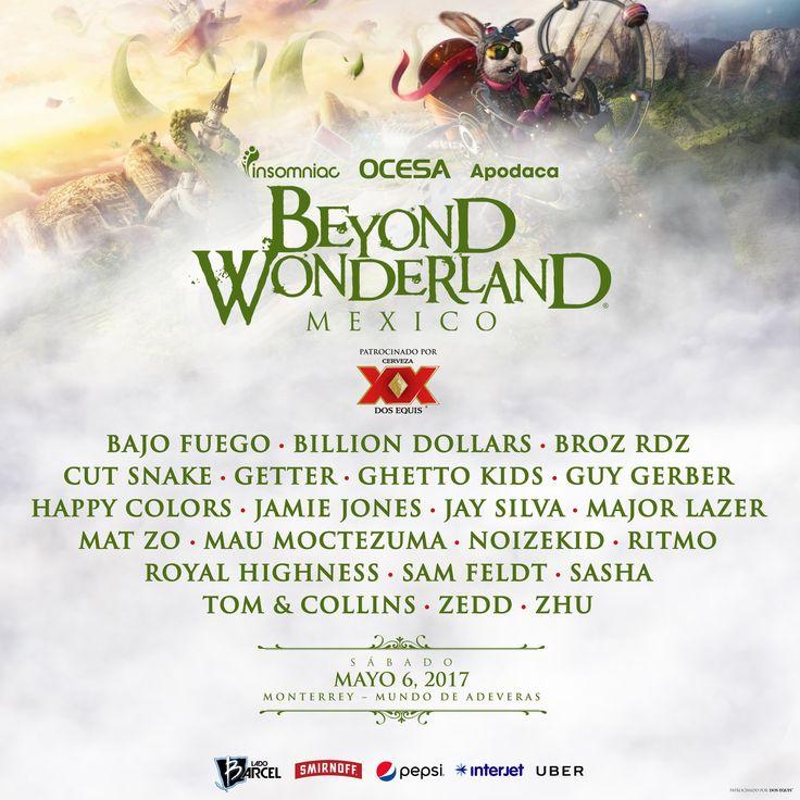 Primer Beyond Wonderland M?xico 2017