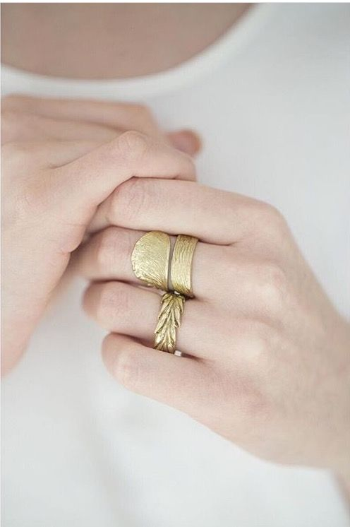 You can find a few words about our jewelry on Pica Pica blog :) rings from BERY collection by Anna Orska.