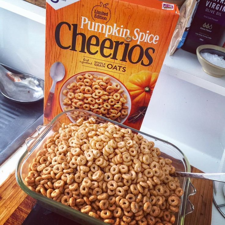 Whole-boxing Pumpkin Spice @cheerios again! 😎 My love for these is extreme.. Come to think of it, pumpkin-spiced anything is the GOAT. 🐐 Cals - 1300ish #louiseats #cheerios #pumpkinspice - TFS™Squad call-out - myself, @patricia_iifym @w_kemp @kingschratz @jeronimo_iifym and @good_food_is_life (@louis_eats) flingor protein milkshake mjölk mandelmjölk cheerios pumpapaj MyFood MyRecipe