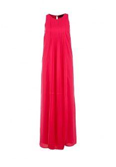Платье LOST INK., цвет: фуксия. Артикул: LO019EWDDA20. Женская одежда / Платья и сарафаны / Платья-макси