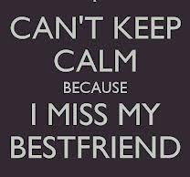 I MISS U GURL!!!!!