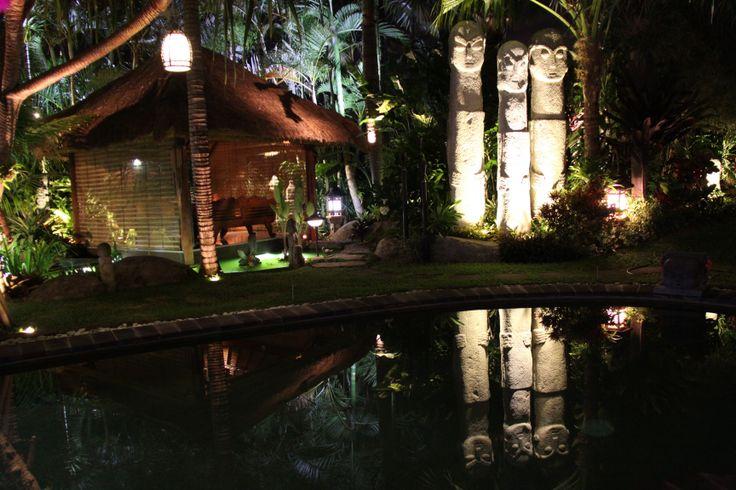 Night lighting supplied by www.islandimports.com.au
