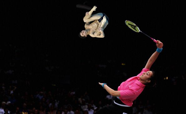 20. | 20 Photos Of Olympic Badminton Players Swatting Divers Like They're Flies